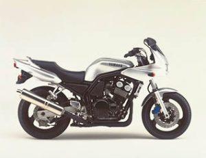YAMAHA FZS 600 FAZER 2001 GRIS SM1
