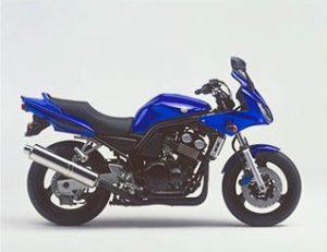 yamaha fzs 600 2003 bleu DPBMC