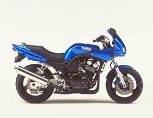 yamaha fzs 600 fazer 2001 bleu BMC