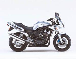 yamaha fzs 600 fazer 2002 gris S1