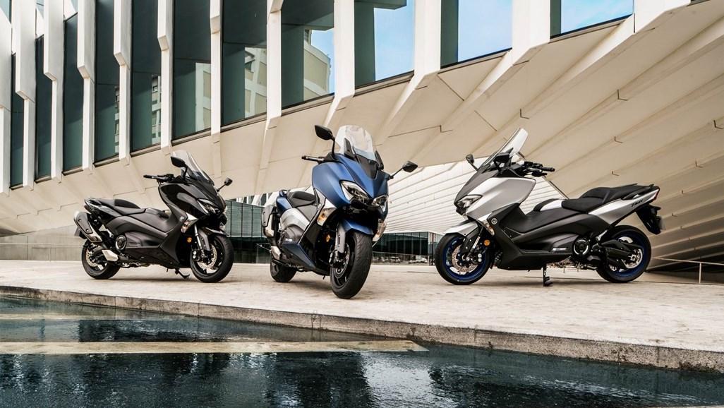 Yamaha T-MAX 530 SX et DX