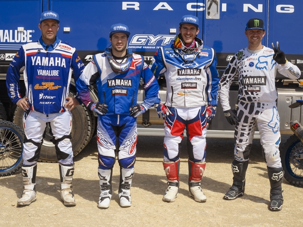 TEAM Officiel YAMAHA RACING Dakar 2018
