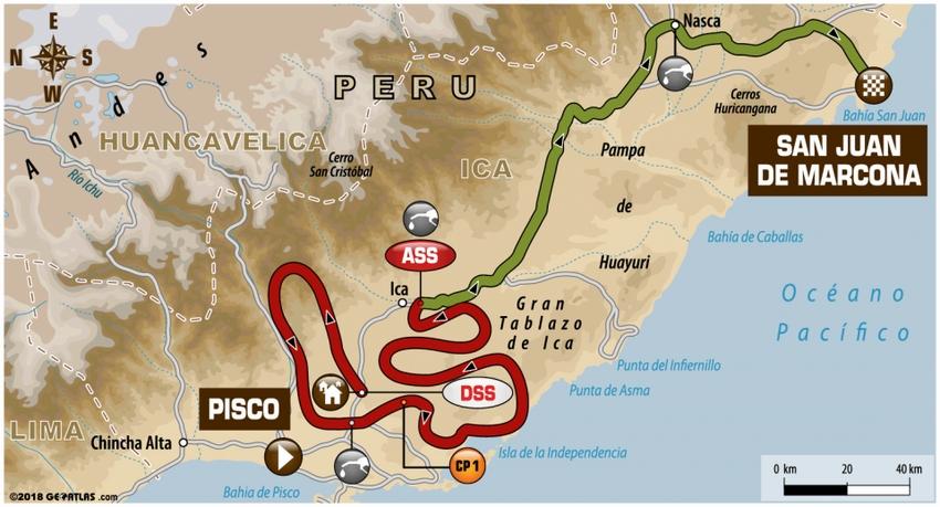 Etape 3 Dakar 2018