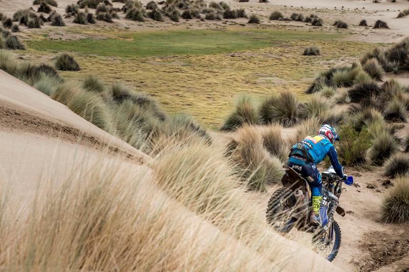 Van Beveren reprend la tête du Dakar à mi-parcours