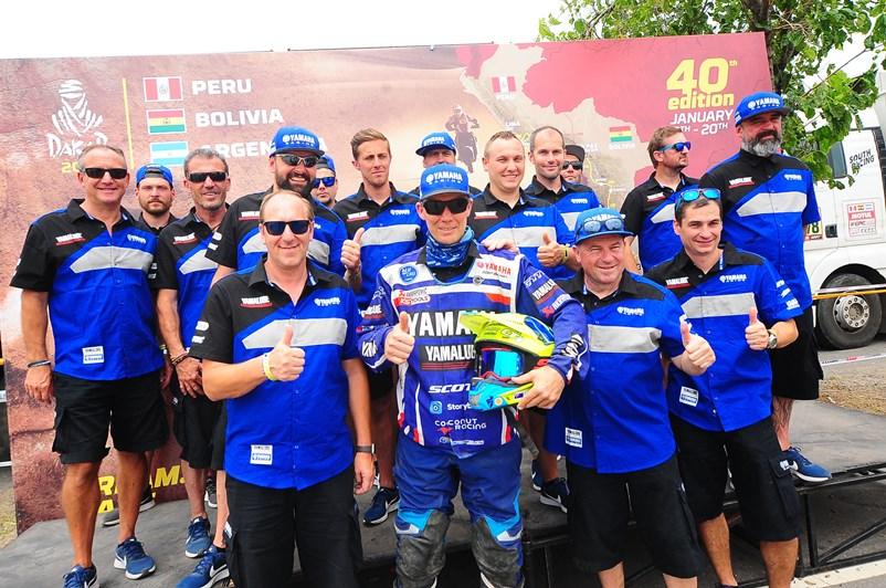 Yamaha laisse son  empreinte sur le Dakar 2018