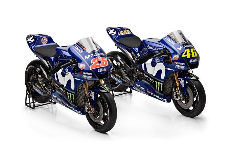 L'équipe Movistar Yamaha MotoGP 2018