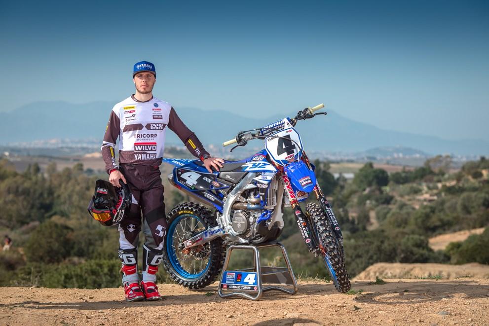 Arnaud Tonus Out pour le début de saison MXGP 2018