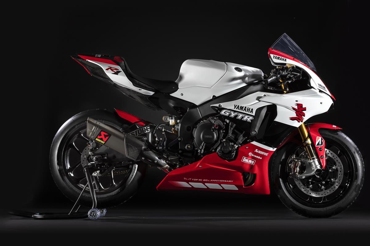 Nouveauté 2019 : Yamaha YZF-R1 GYTR 20 ème Anniversaire