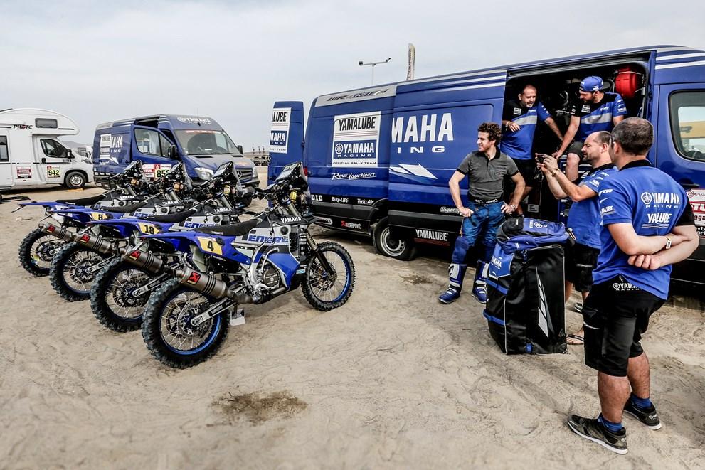 Yamaha 450 WRF Rallye 2019 Présentation