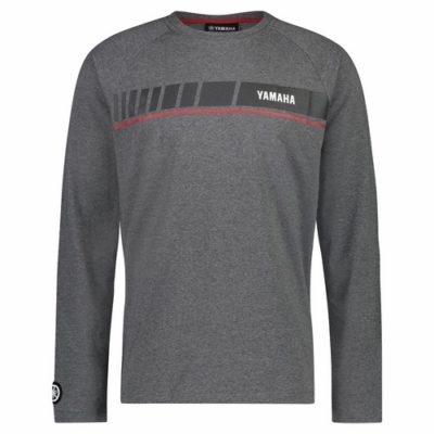 T-shirt Yamaha REVS 2019 Gris Manches Longues