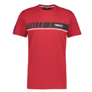 T-shirt Yamaha REVS 2019 Rouge grand logo