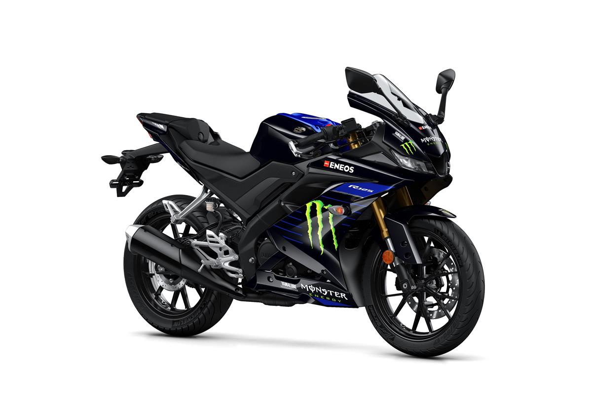 YZF-R 125 Monster Energy l'ADN MotoGP