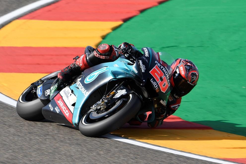 Moto GP Aragon 2019 Quartararo 5ème