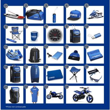 calendriers de l'avent Yamaha 2019 liste des cadeaux