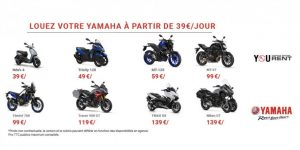 Yamaha Rent la location de motos et scooters by yamaha