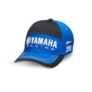 Casquette Noire bleue Yamaha Paddock