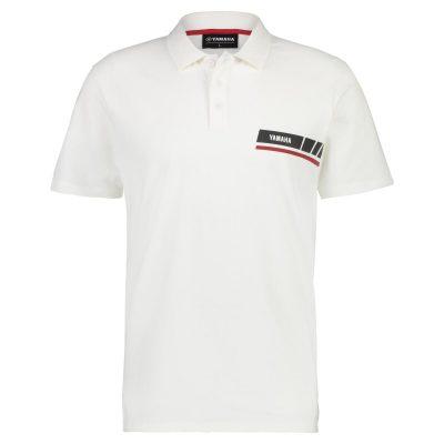 Polo Yamaha REVS Blanc homme