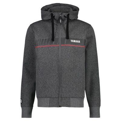 Sweat Capuche Yamaha REVS gris homme