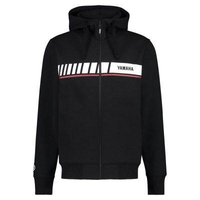 Sweat Capuche Yamaha REVS noir homme