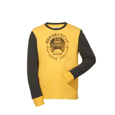 Sweat Yamaha Faster Sons Jaune homme