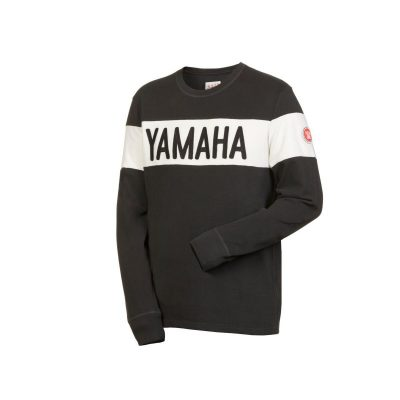 Sweat Yamaha Faster Sons noir homme