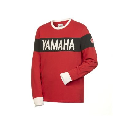 Sweat Yamaha Faster Sons rouge homme