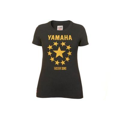 T-shirt Faster Sons Yamaha Femme