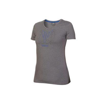 T-shirt Hypernaked gris Yamaha Femme