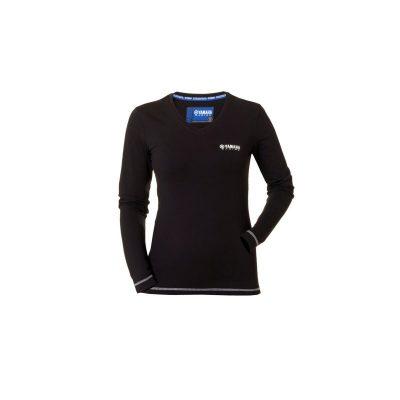 T-shirt Manches longues Noir Yamaha femme