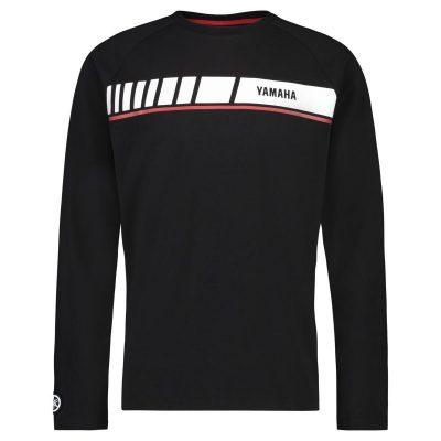 T-shirt Revs noir Yamaha Manches longues