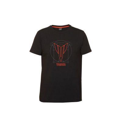 T-shirt Yamaha Hypernaked noir