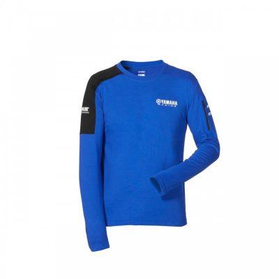 T-shirt Paddock 2020 Yamaha Bleu Manches longues