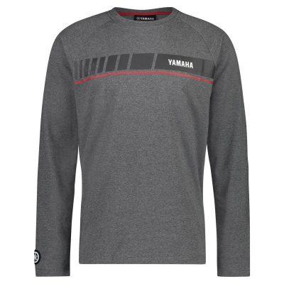 T-shirt Yamaha REVS gris homme Manches longues