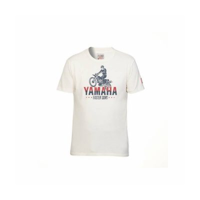 t-shirt Faster Sons Beige Homme