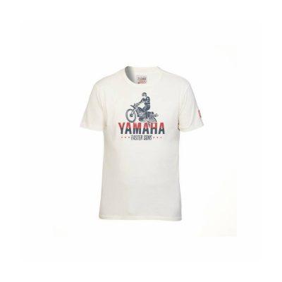 t-shirt Yamaha Faster Sons Beige