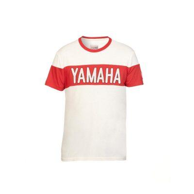 t-shirt Yamaha Faster Sons Blanc