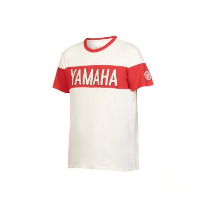 t-shirt Yamaha Faster Sons Blanc homme