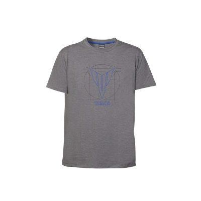 t-shirt Yamaha Hypernaked Gris