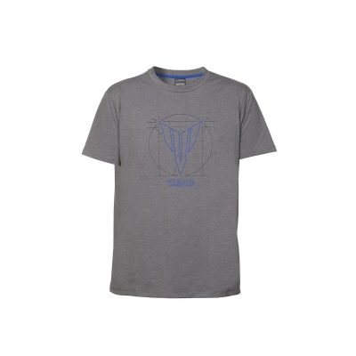 t-shirt Yamaha MT Hypernaked gris homme