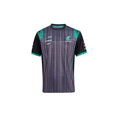 t-shirt Yamaha Petronas gris