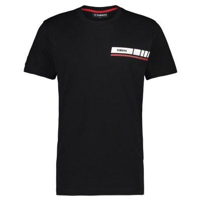 t-shirt Yamaha REVS Noir Homme