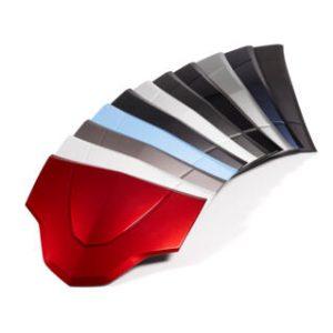 Capots de couleurs top case 39l itres TRACER 900 2020