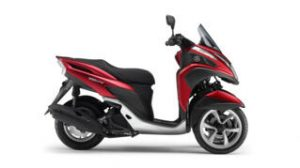YAMAHA TRICITY 125 2016 ANODIZED RED MDRM3