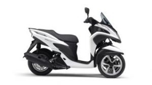 yamaha tricity 125 2015 COMPETITION WHITE BWC1