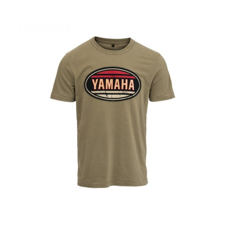 T-shirt Yamaha Faster Sons TRAVIS Kaki 2021