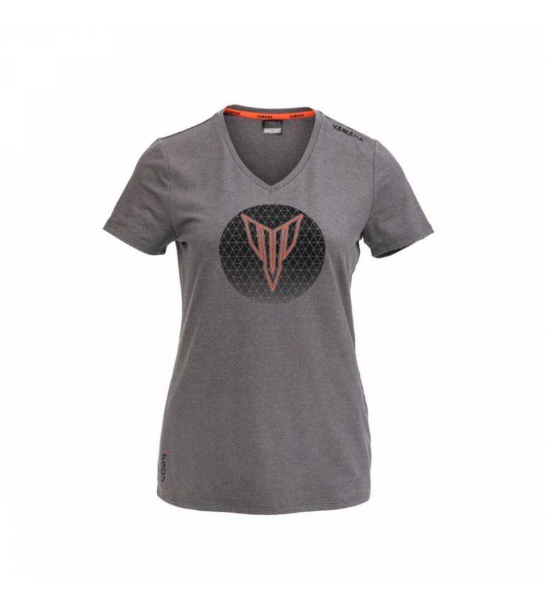 t-shirt yamaha MT 2021 hypernaked casual femme madison gris 2021