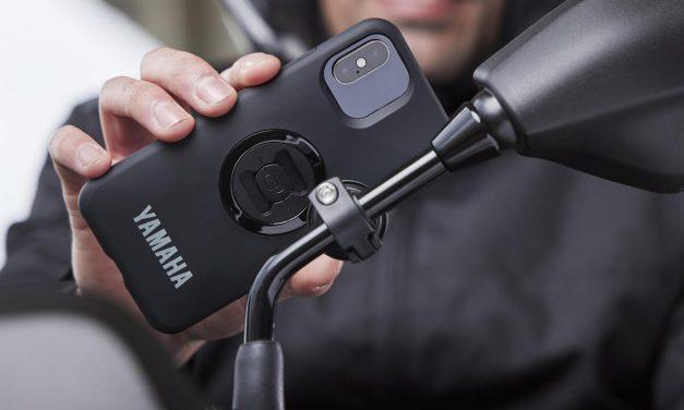 support smartphone sur rétroviseur MT 125 2021