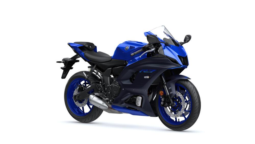 YAMAHA R7 2021 ICON BLUE